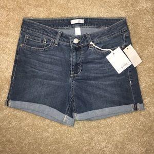 NWT LC Lauren Conrad denim shorts size 6